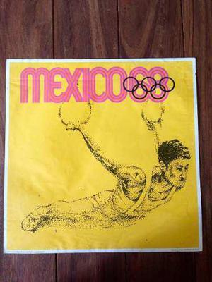 Cartel Afiche Vintage Original Olimpiadas México 68 Aros
