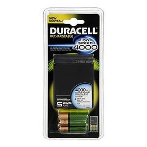 Duracell Ion Velocidad 4000 Cargador De Batería 1 Conde
