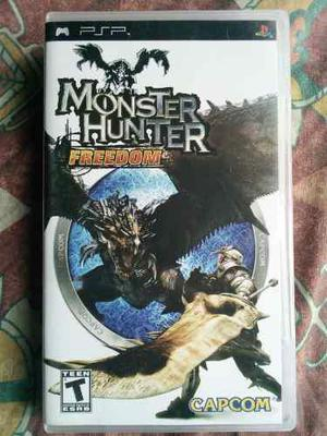 Juego Psp Monster Hunter Freedom Usa