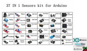 Kit 37 Sensores Sensor Para Arduino Envio Incluido