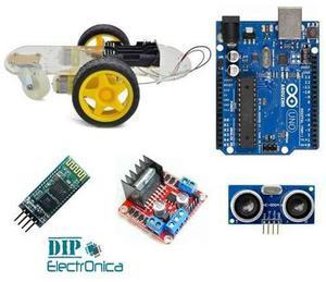 Kit Chasis Carro Robot Arduino Con Modulos