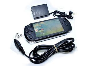 Psp Slim Negro Modelo 3000 16gb Liberado Con Juegos Sony