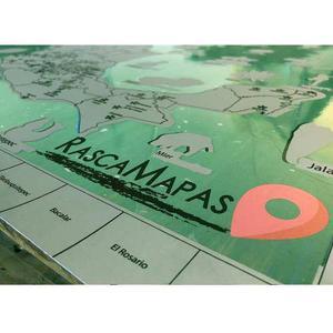 Rasca Mapa De Los Pueblos Mágicos De México