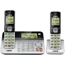 Telefono Vtech 2 Inalambrico Y Teclado En Base Envio Gratis