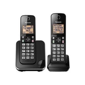 Telefonos Inalambricos Panasonic Kx-tgc352b 2 Auriculares