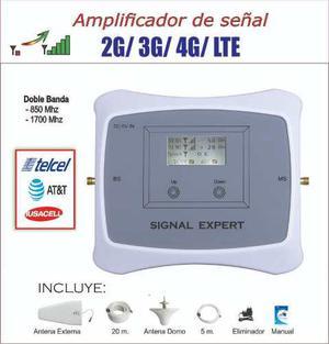Antena Amplificador De Señal Telcel Att Iusacell 2g 3g 4g