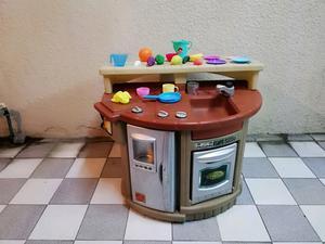 Asador de juguete cocinita step 2 little tikes para niñas