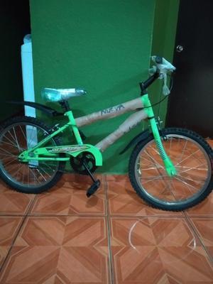 Bicicleta SPARK color verde rodada 20 NUEVA