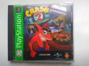 Crash Bandicoot 2 Cortex Strikes Back Ps One Ps1 Psx