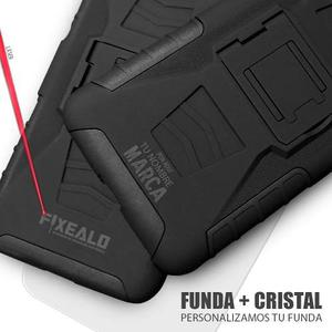 Funda Motorola Moto One / P30 Play Uso Rudo Clip + Cristal