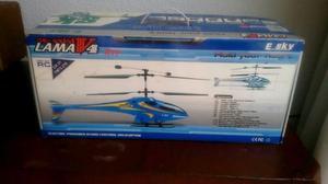 Helicoptero Control Remoto Lama V4 Nuevo con Detalles