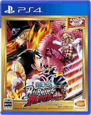 One Piece Buning Blood Ps4 Perfecto Estado-----------mr.game