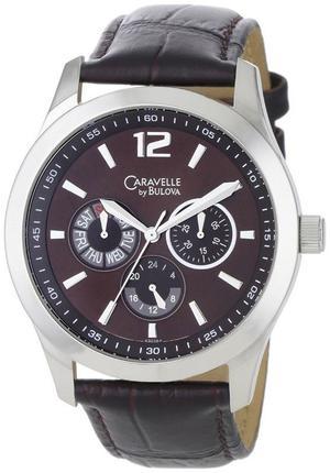 Reloj Caravelle By Bulova Hombre Cafe Mocha