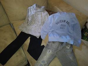 Ropa de niño marcas Gap, Ferrioni y Zara tallas 3-5