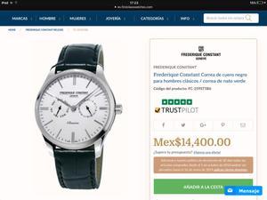 Se vende reloj de marca para caballero