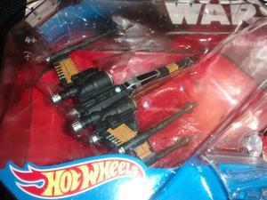Star wars Poe's x wing fighter Hot Wheels
