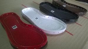 Suelas para tejer botas