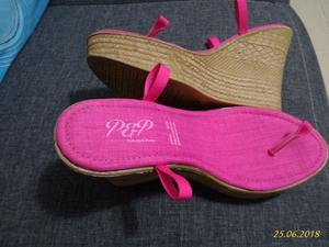 Suelas para tejer sandalias