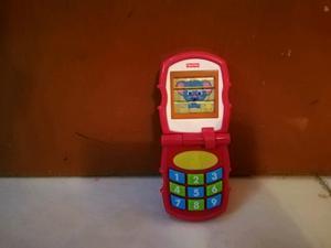 Telefonito fisher price para bebes y niños
