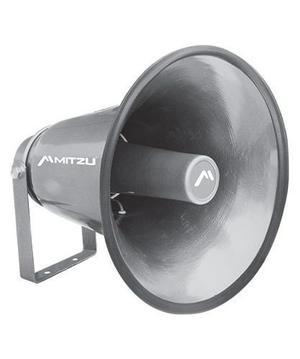 Trompeta Aluminio Perifoneo 400w Resistente Al Agua Mitzu