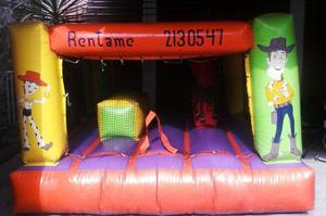 Vendo inflable Seminuevo 3x3 mts en Toluca