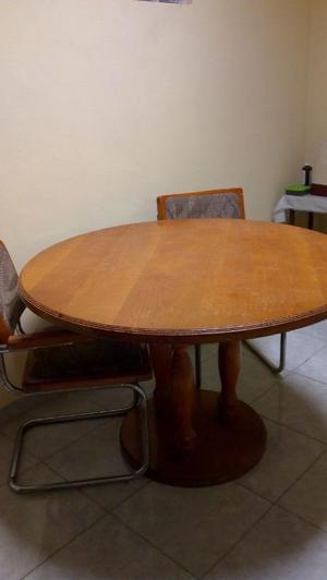 antecomedor madera 4 sillas
