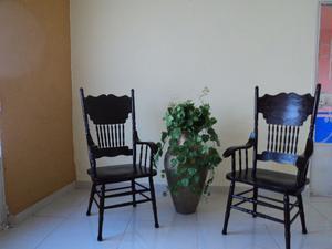 sillas tipo malinche en madera de cedro