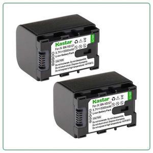 2 Baterias Bn Vg121para Camara Digital Jvc Everio Gz-e Gz-ex