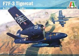 Avión F 7 F - 3 Tigercat Esc. 1/48 Italeri Envío Gratis