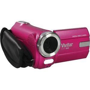 Camara De Vídeo Digital Vivitar Dvr-508 Hd Rosa Video