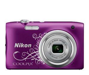 Cámara Digital Compacta A100 Nikon 20.1 Mpx Purple