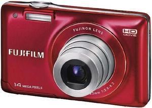 Cámara Digital Fujifilm Finepix Jx500 - Rojo (14mp, Zoom