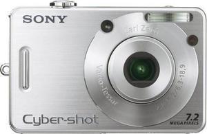 Cámara Digital Sony Cybershot Dscw70 De 7.2mp Con Zoom