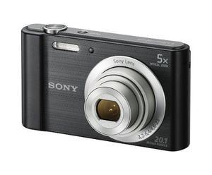 Cámara Digital Sony Dsc-w800/b 20,1mp 5x Zoom Óptico-negro