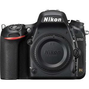 Cámara Profesional Digital Nikon D750 Con Formato Fx Cuerpo