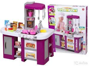 Cocinita Infantil De Juguete Deluxe Talented Chef Grande