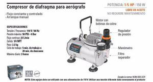 Compresor De Diafragma Para Aerógrafo
