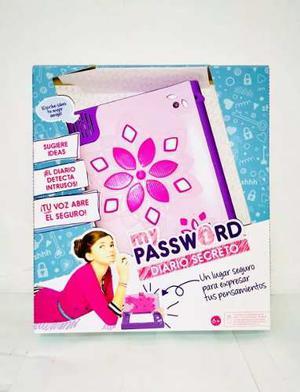 Diario De Voz Secreto Edición  Mattel Rosa/lila Nuevo