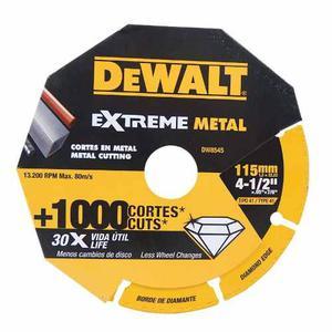 Disco Diamantado Extreme Metal De 4 1/2 Dw Dewalt