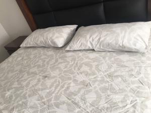 Edredón cama king size