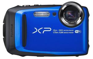 Fujifilm Finepix Xp90 Camara Digital Impermeable Azul