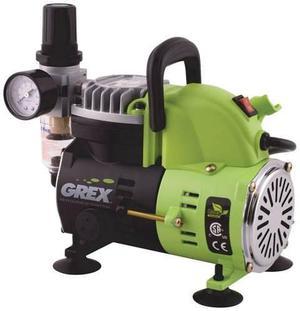 Grex Ac A 1/8 Hp 120-v Portable Del Pistón Del Compresor De