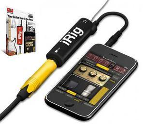 Irig Interfaz De Amplitube Guitarra Iphone Ipad Original