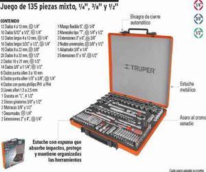 Juego De Autocle, 135 Piezas - Truper