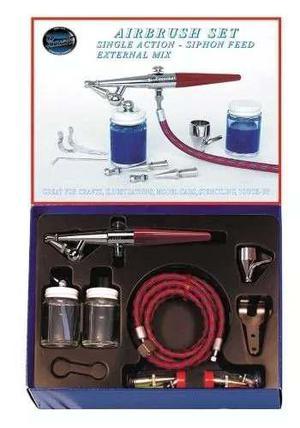 Kit Para Aerografo Paasche H-set Set Kit Completo