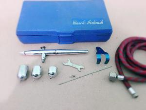Kit Profesional Aerógrafo Paasche Y Compresor De Aire