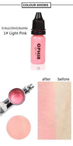 Light Pink - Nuevo Ophir Blush Pro Aerógrafo