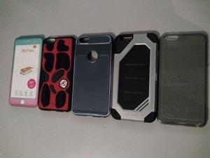 Lote de fundas iPhone 6 plus y S plus.