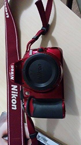 Nikon D Digital Slr Cámara Cuerpo (Rojo)