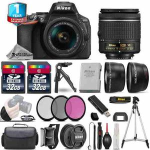 Nikon D Dslr Camera + mm Vr - 3 Lens Kit